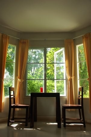 Bay and Bow Window Treatment Ideas - Better Homes and Gardens Online
