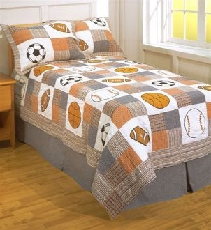 Top 5 Sports Themes for Boys' Bedding