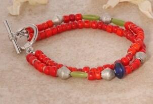 How to Wear Bead Bracelets