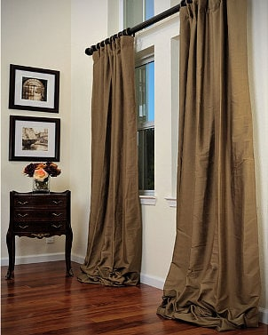 How to Hang curtains without making holes in the wall « Interior