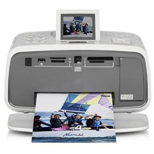 Printer using HP ink cartridges to print photos