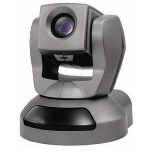 Black swiveling security camera for the home