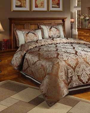 Luxurious duvet cover