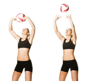 Tips on Setting Volleyballs
