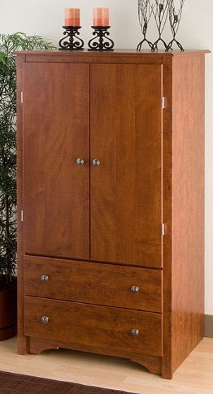 A 2-drawer armoire