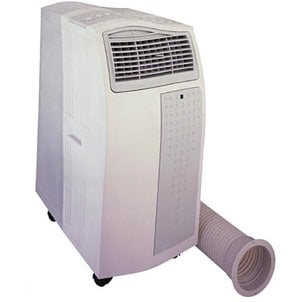 An easy to use portable air conditioner
