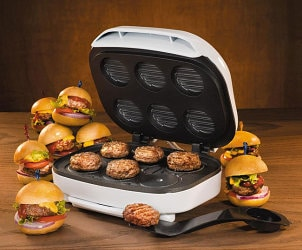 Mini slider electric grill