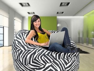 How to Incorporate Bean Bags into your Home Decor
