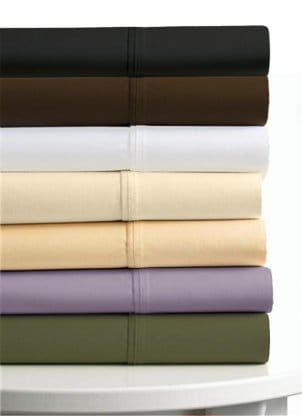 Stack of colorful sheets