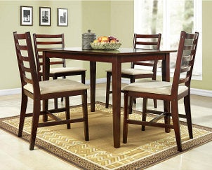 Dining Room on Tie Your Dining Room Together In A Jiffy With A Chic Dining Table Set