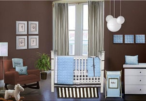 Adorable baby nursery