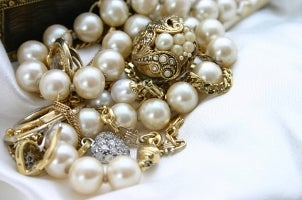 A lovely Akoya pearl necklace