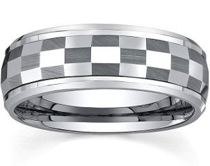 Best Unique Fashion Tungsten Rings