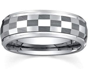 Best Unique Fashion Tungsten Rings