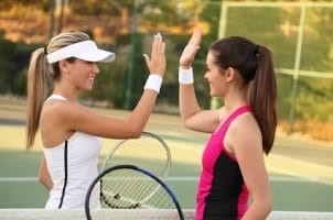 The right tennis equipment can improve your game