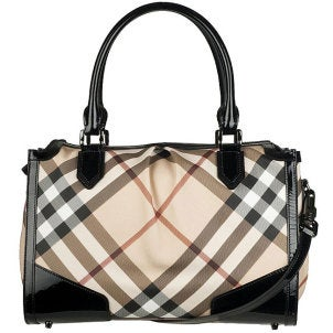 Burberry bowler handbag for a holiday gift