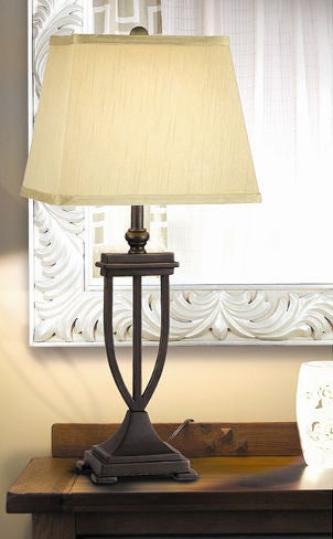 Bronze table lamp