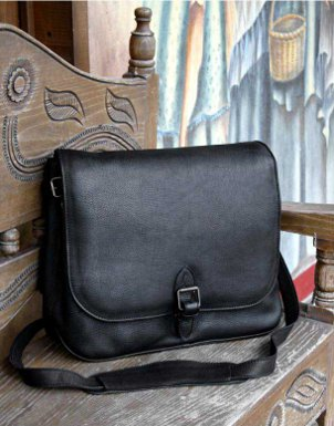 Leather messenger bags are very versatile