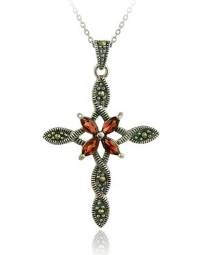 Best Gemstones for a Cross Necklace