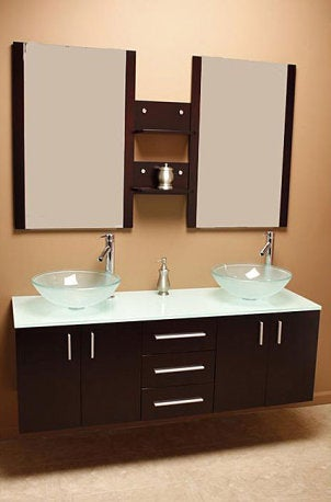 Decorating with a Contemporary Italian Bathroom Vanity Set