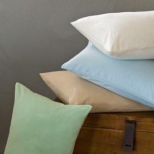 Cozy flannel pillowcases