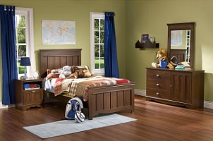 Completely furnished child's room