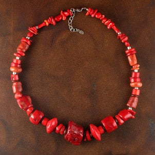 What to Wear with Handmade Coral Jewelry