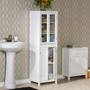 How to Take Care of a Bathroom Cabinet