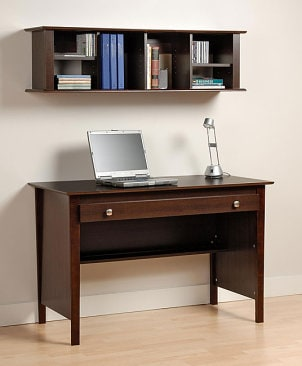 Computer desk for a home office