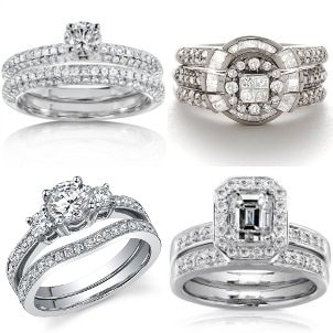 Four stunning bridal sets