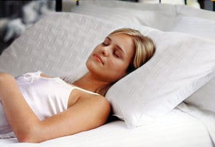 Certain pillows can help you stop snoring
