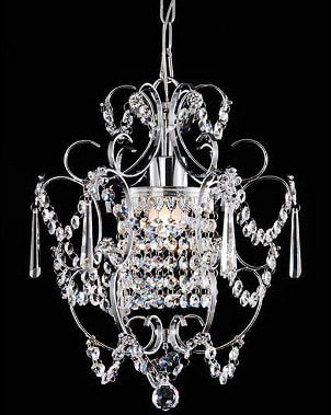 A clean chandelier will look brand new