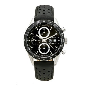 The Carrera watch is a TAG Heuer classic