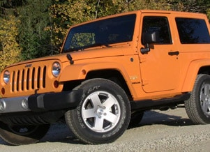 Image of a 2012 Jeep Wrangler