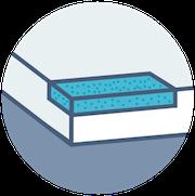 Gel Memory Foam Mattress Icon
