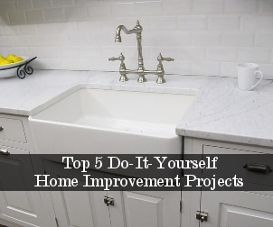 Top 5 Do-It-Yourself Home Improvement Projects