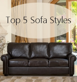 different types of sofa sets