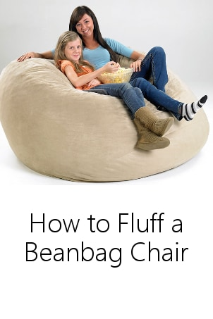 How to Fluff a Beanbag Chair