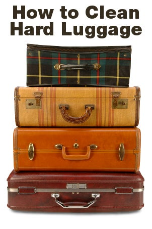 How to Clean Hard Luggage
