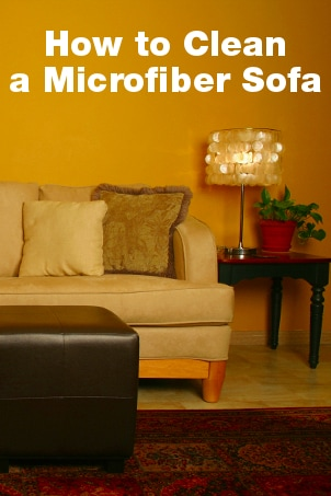 how to clean a microfiber sofa overstock. Black Bedroom Furniture Sets. Home Design Ideas