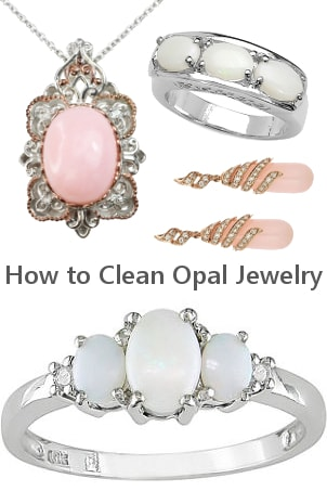 How to Clean Opal Jewelry