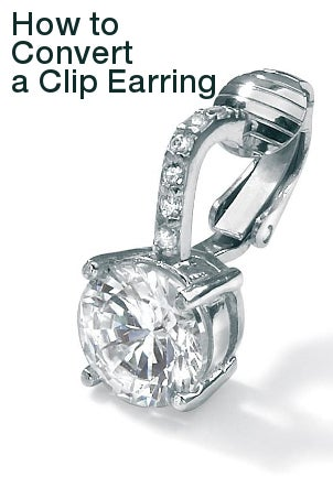 How to Convert a Clip Earring