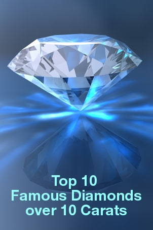 Top 10 Famous Diamonds over 10 Carats