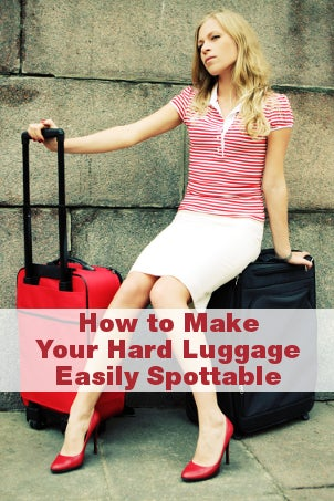 How to Make Your Hard Luggage Easily Spottable