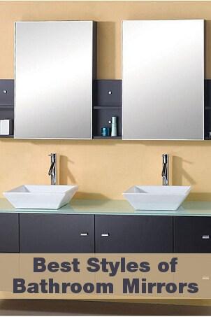 Best Styles of Bathroom Mirrors