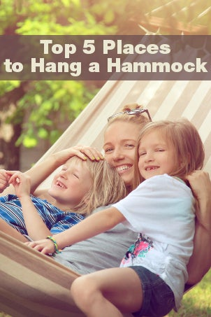 Top 5 Places to Hang a Hammock