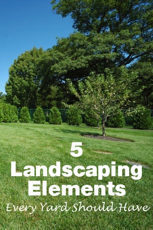 5 Landscaping Elements Every Yard Should Have