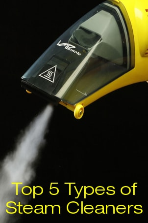 Top 5 Types of Steam Cleaners