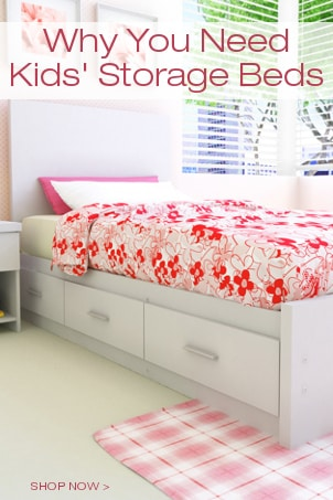 Why You Need Kids' Storage Beds