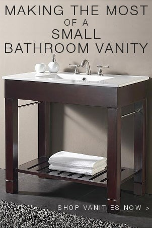 Making the Most of a Small Bathroom Vanity